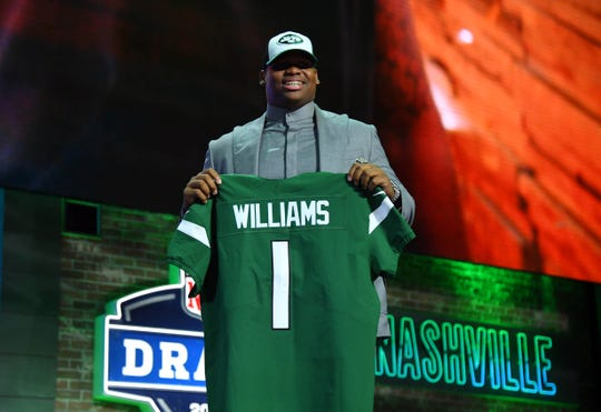 half off fda5a c7345 NY Jets depth chart: Projecting Quinnen Williams, Jachai ...