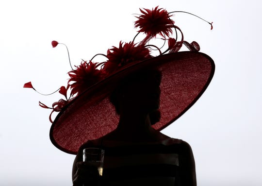 Hats are the star of the show at the Kentucky Derby... aside from the horses of course.