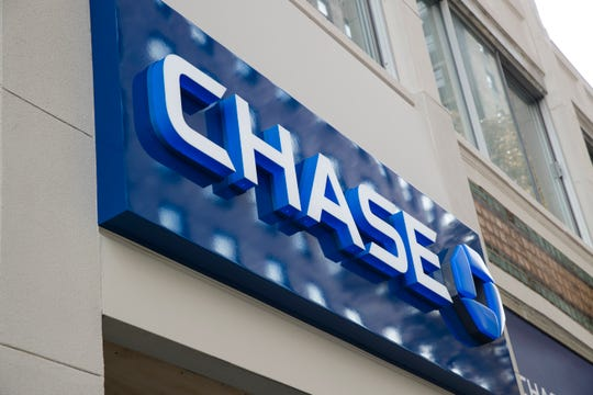 This Nov. 29, 2018 file photo shows a Chase bank location in Philadelphia.