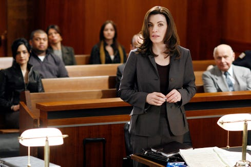 "Julianna Margulies won two Emmy Awards for best actress in a drama series for CBS' ""The Good Wife,"" which ended in 2016 after seven seasons."