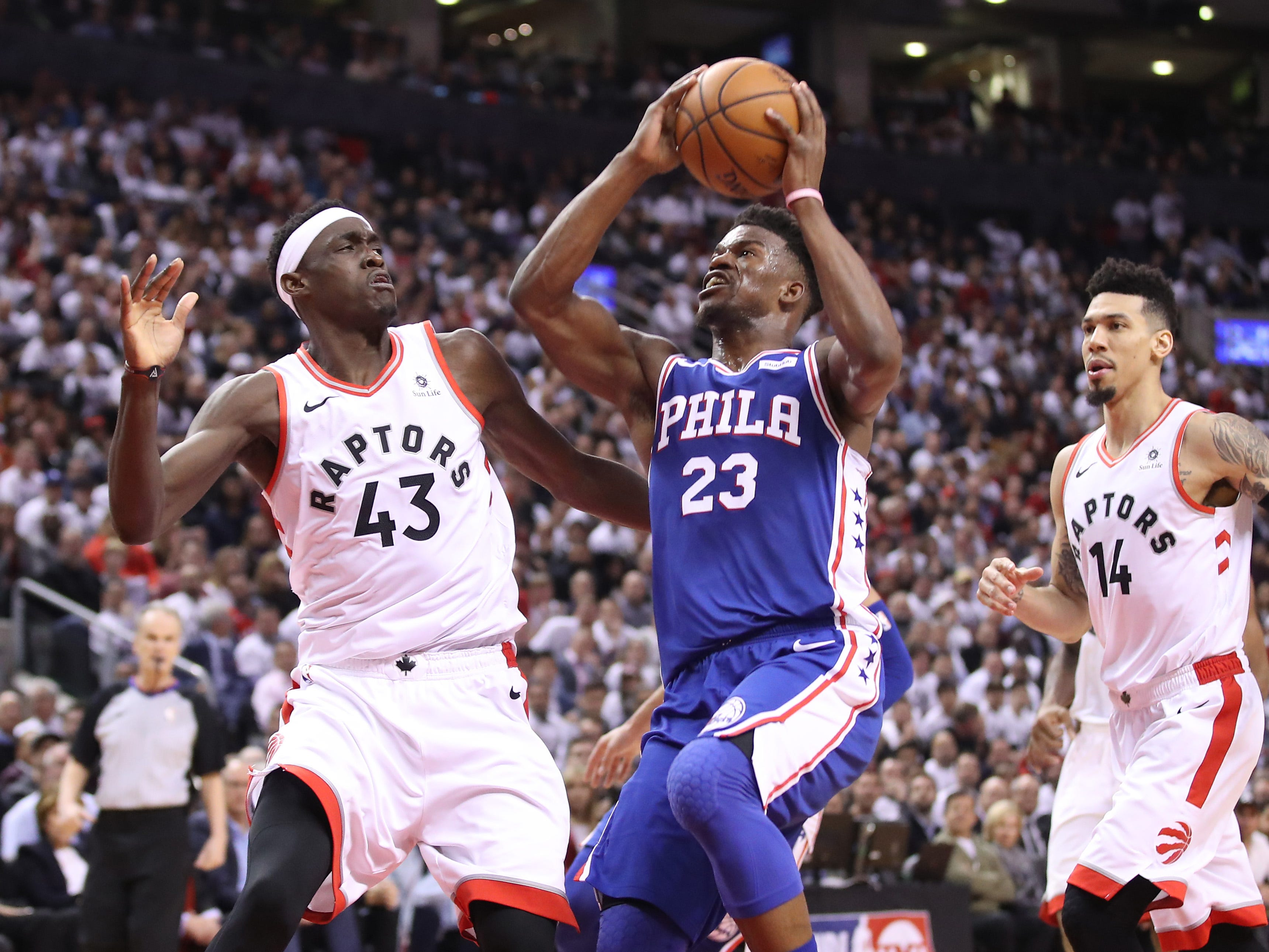 76ers even series with impressive bounce-back win over Raptors in Game 2