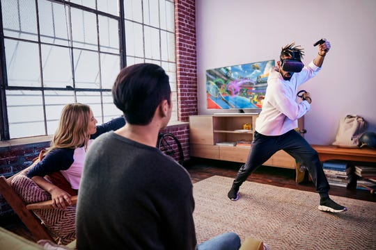 Oculus Quest gets you to move
