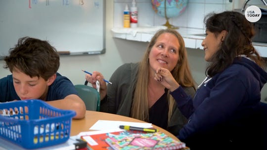 These teachers' jobs give fair salary, housing, respect. All they had to do was leave U.S.