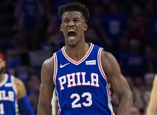 newest ced7c d35c7 Jimmy Butler the key to the 76ers' NBA title dreams
