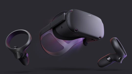 Oculus Quest comes with two hand controllers