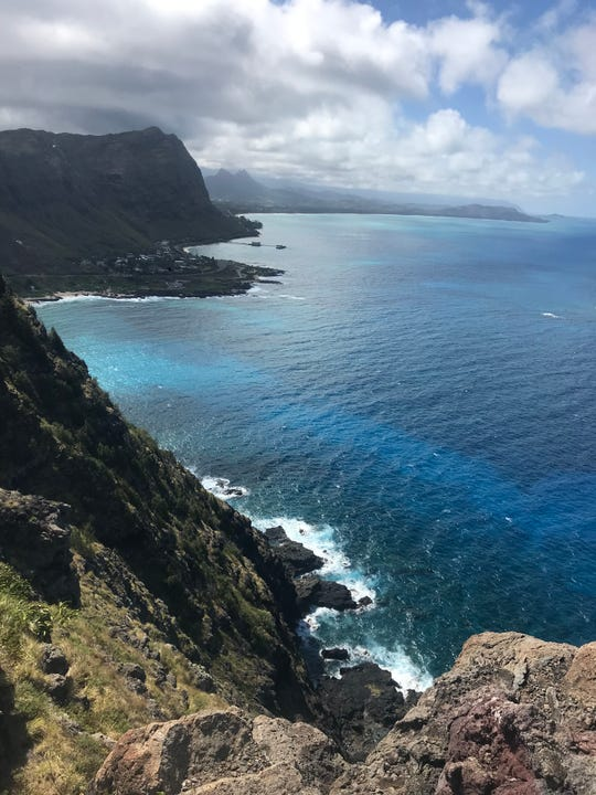 The Makapu'u Point Lighthouse Trail, just 30 minutes from Waikiki Beach, is a family friendly hike with rewarding views.