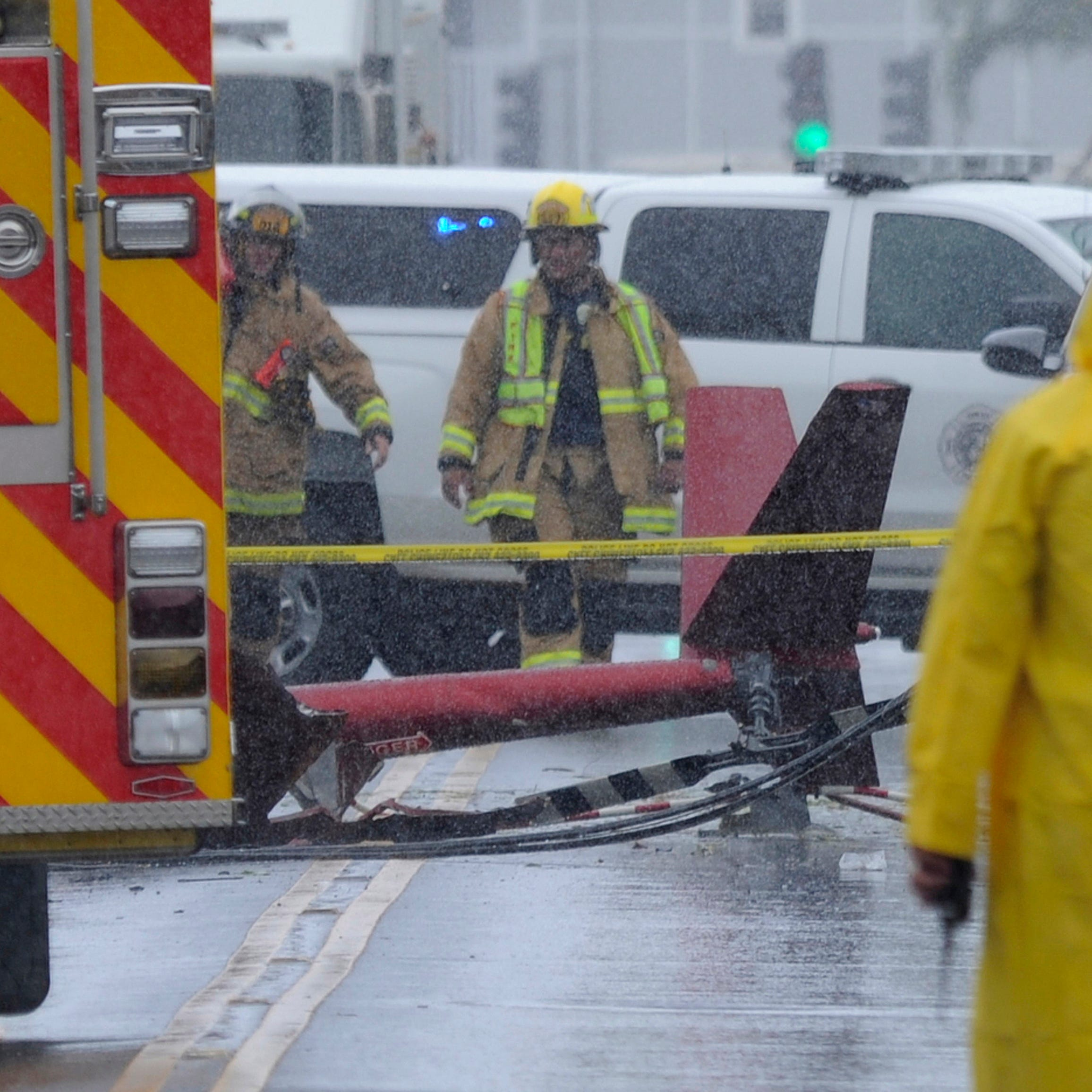'It sounded like a missile hit a plane': Hawaii tour helicopter crashes near Honolulu, killing 3