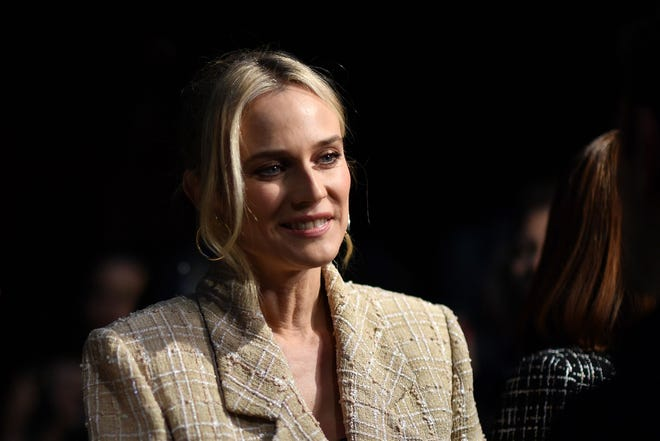 Diane Kruger explains why she's hesitant to share her daughter's name.