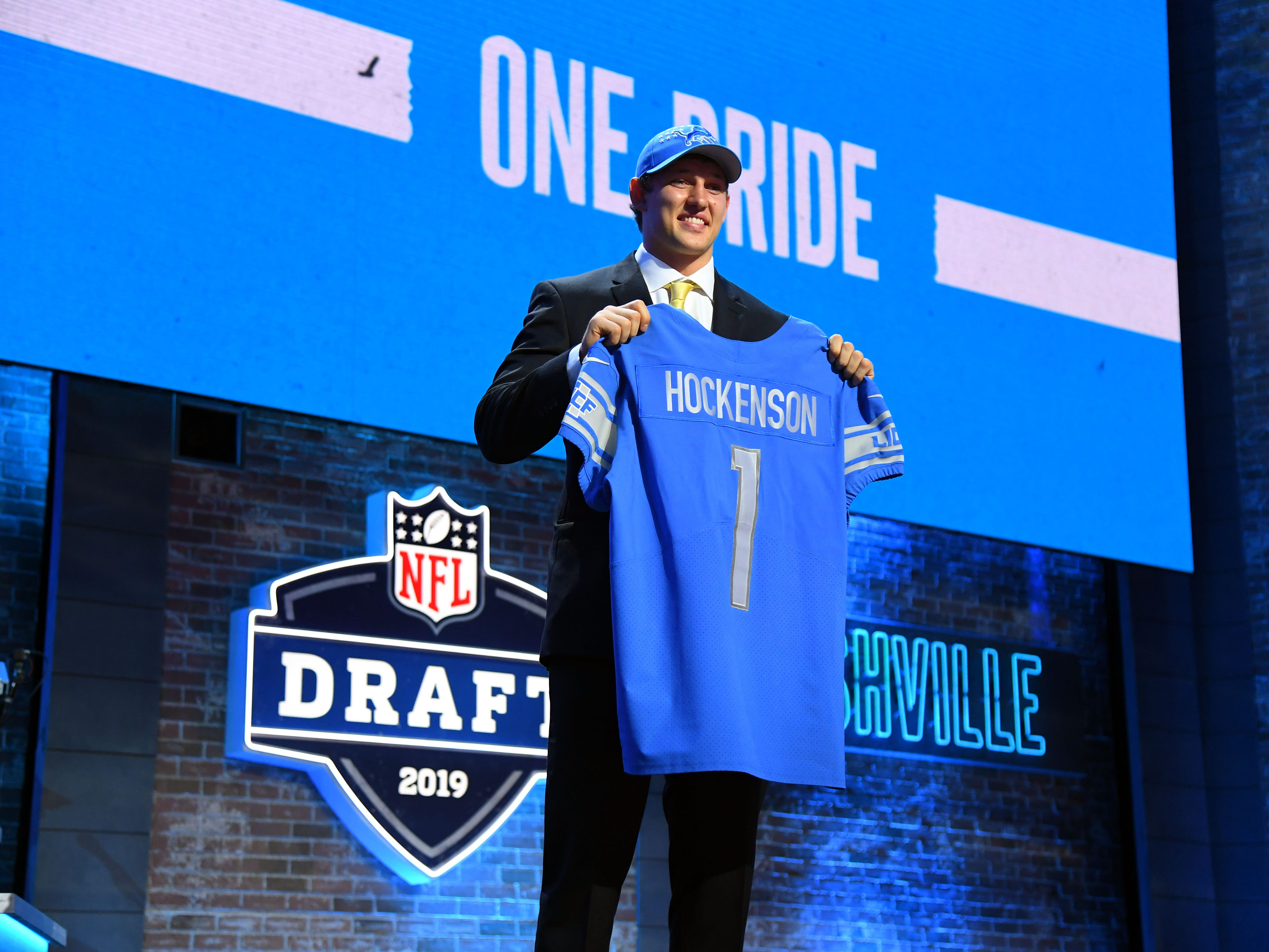 28. Lions (27): DE Trey Flowers, TE T.J. Hockenson are quality pick-ups. But Detroit looks outclassed in NFC North, and Matthew Stafford can't catch a break.