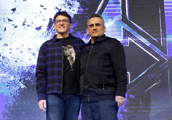 "Directors Anthony (left) and Joe Russo didn't want the usual Marvel end-credits scene on ""Avengers: Endgame."""