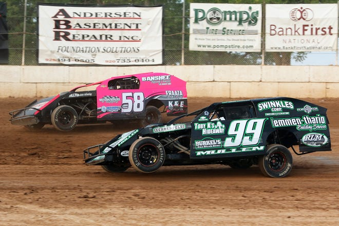Defending IMCA modified track champion Marcus Yarie of Wausau, in car No. 58, is all for Outagamie Speedway's switch to Friday nights in 2019. The season kicks off May 10 at the Outagamie County Fairgrounds.