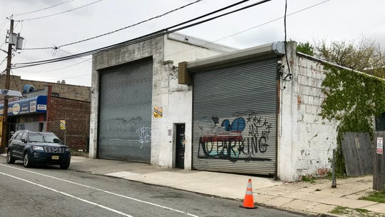 The site of an alleged black market marijuana pop-up held in Jersey City on April 25.
