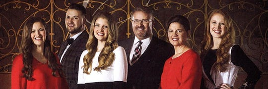 The Collingsworth Family will perform May 10 at Pioneer Drive Baptist Church.