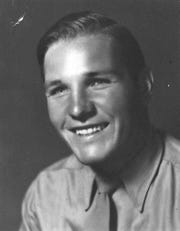 Myrle Greathouse in the U.S. Marine Corps during World War II.