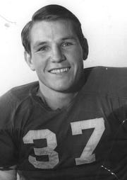 Myrle Greathouse wore No. 37 for the state champion Amarillo High Sandies in 1941.