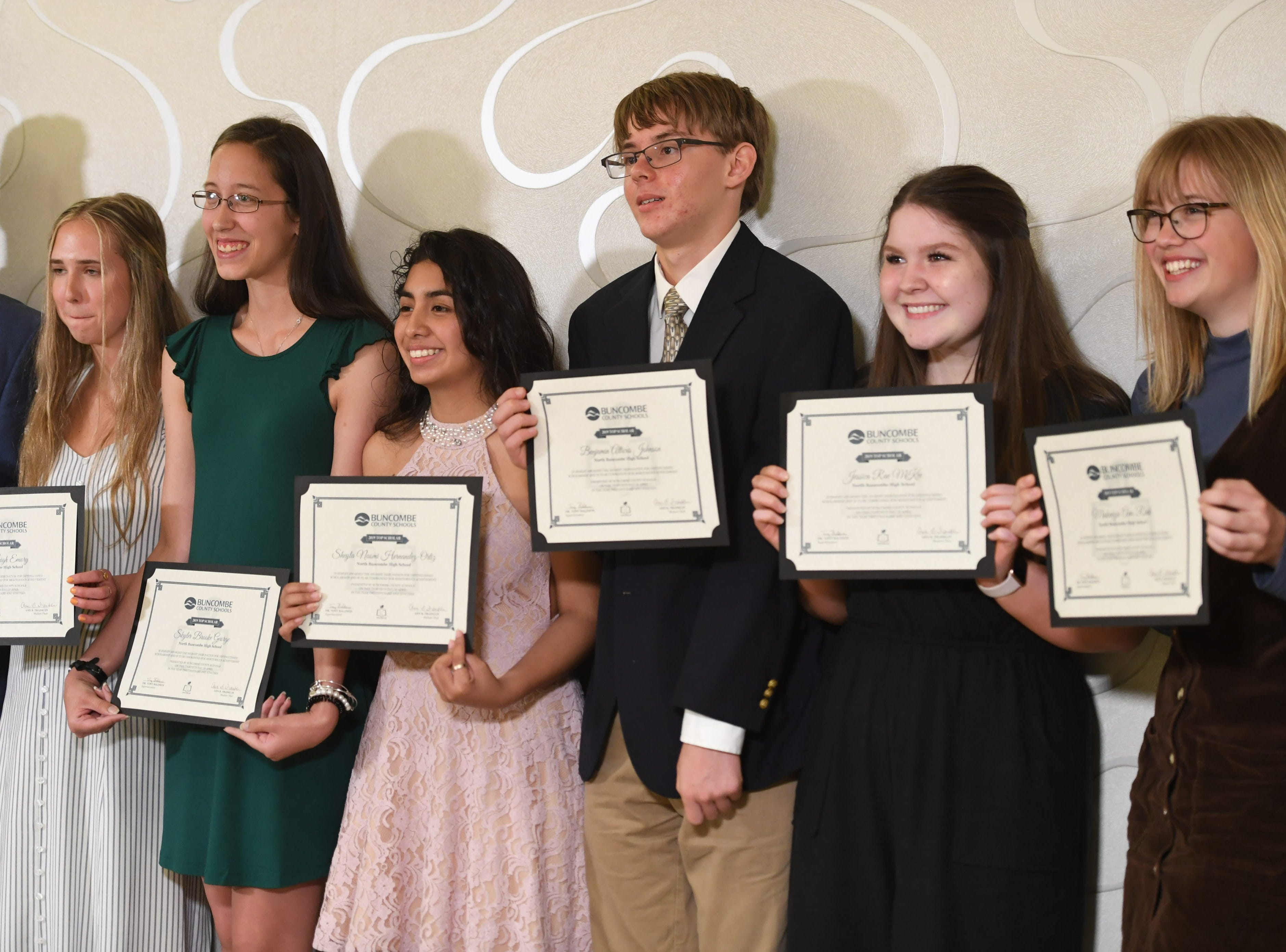 The Buncombe County Top Scholars Banquet was held April 30, 2019 at the Renaissance Hotel in Asheville.