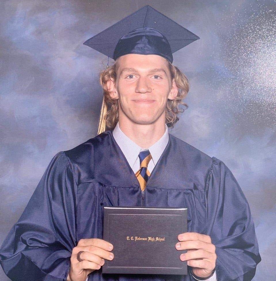 'He radiated love.' Thank you, Riley Howell, for showing what goodness looks like