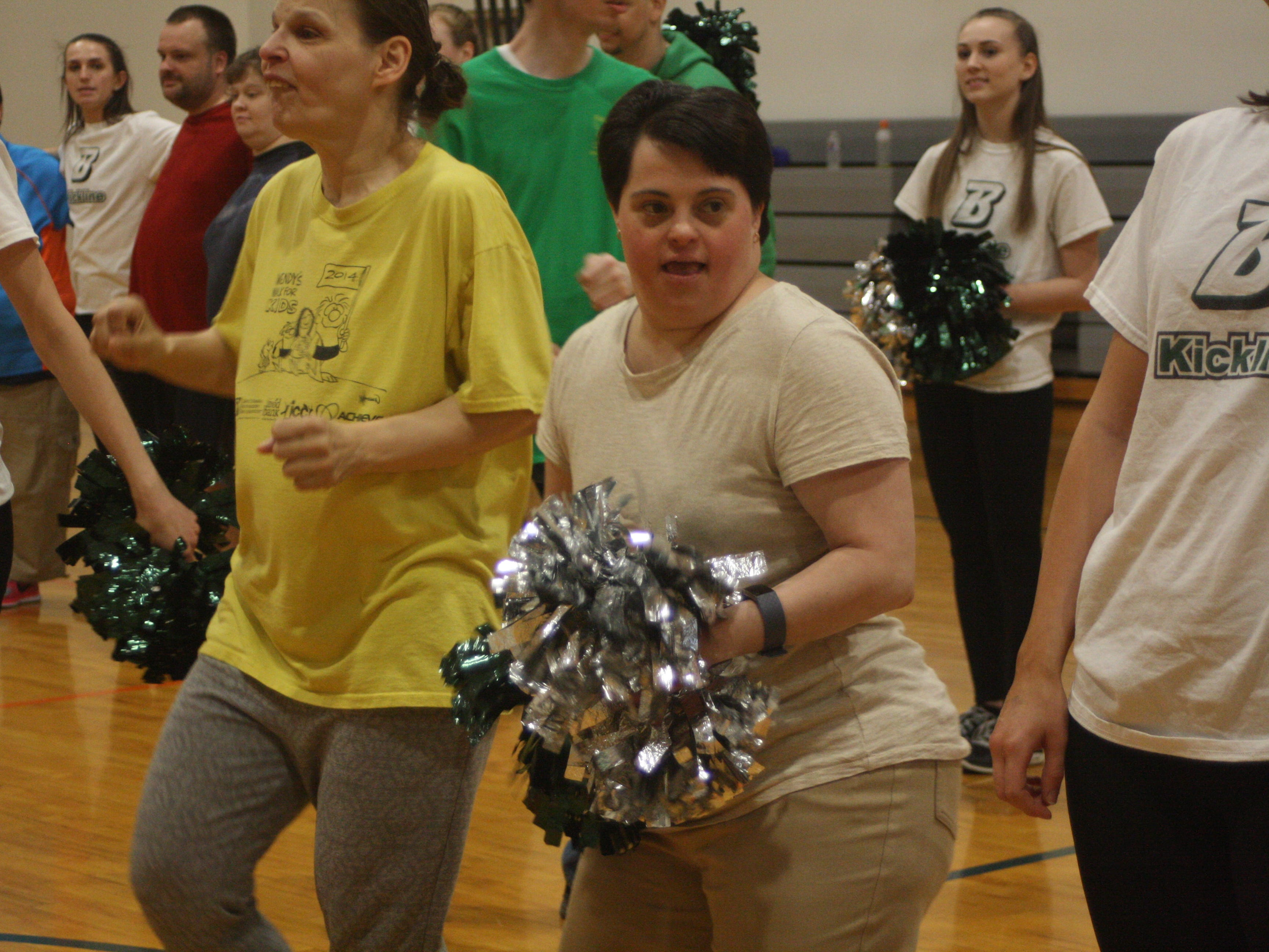 The Special Olympics Vestal Team threw a dance party for Jenny Sorber in honor of her last practice as Head Coach on April 29.