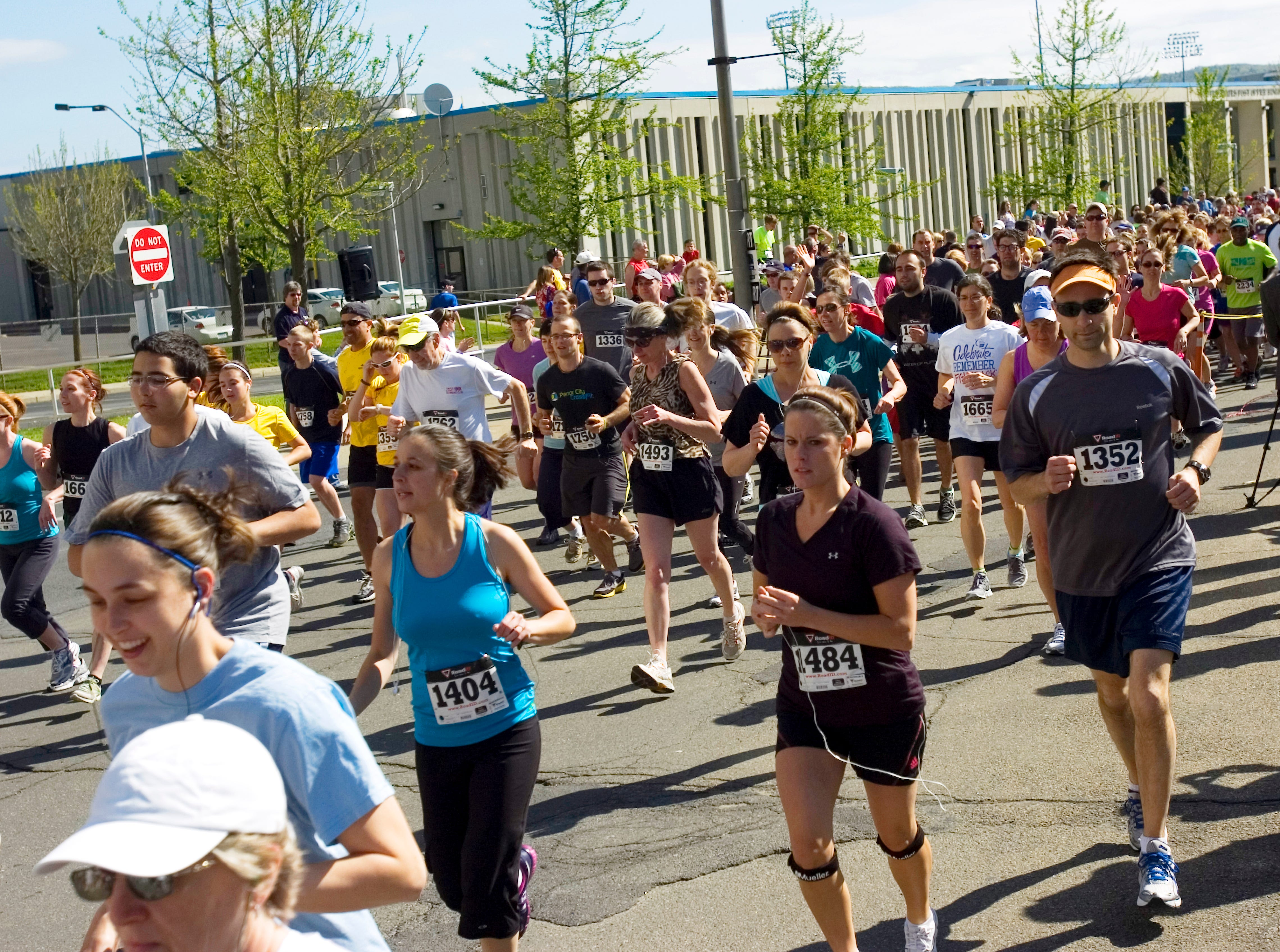 2012: The second annual Greater Binghamton Chamber of Commerce Bridge Run 5K is held Sunday in downtown Binghamton.