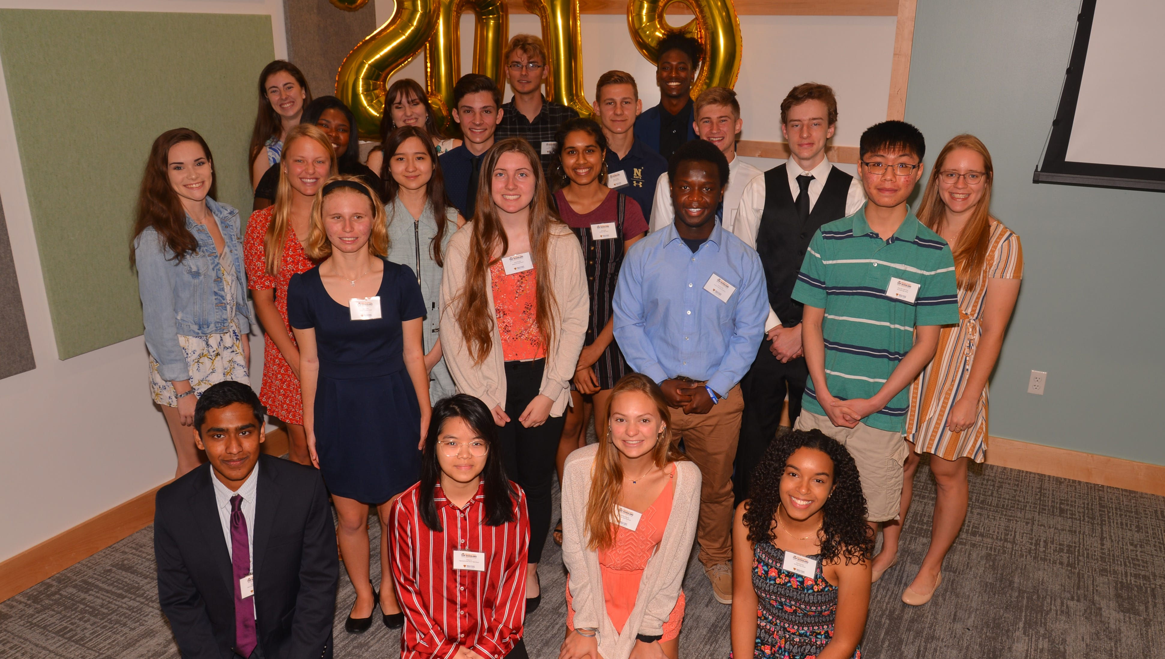 The FLORIDA TODAY Top Scholars recognition breakfast sponsored by the Space Coast Credit Union took place at the Eastern Florida State College Student Union building  on the Melbourne campus Wednesday morning.