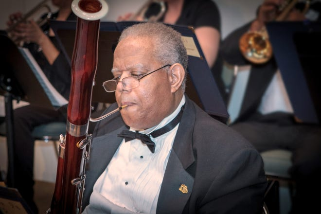 Bassoon player Robert Sawyer is one of the musicians of the Melbourne Community Orchestra, which will perform music from popular stage shows during Broadway Melodies.