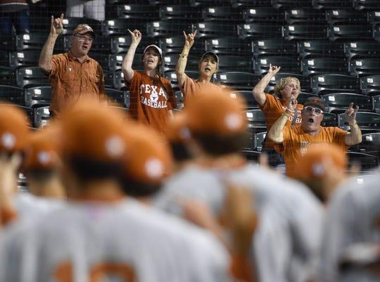Texas took on Texas A&M-Corpus Christi at Whataburger Field on Tuesday, April 30, 2019.