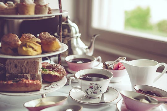 Mother's Day tea (and treats) will be served at a number of special events.