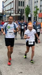 Harvey Lewis plans to run the Flying Pig 10K on May 4 with 97-year-old Mike Fremont.