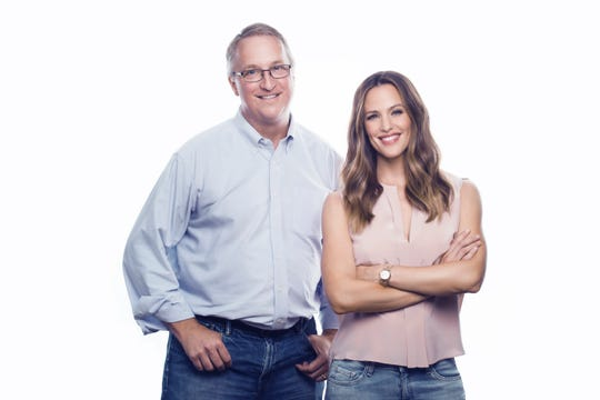 Once Upon a Farm Co-Founders John Foraker and Jennifer Garner.