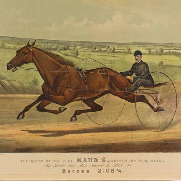 Our history: Maud S was our legendary race horse