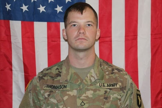 Pfc. Michael Thomason