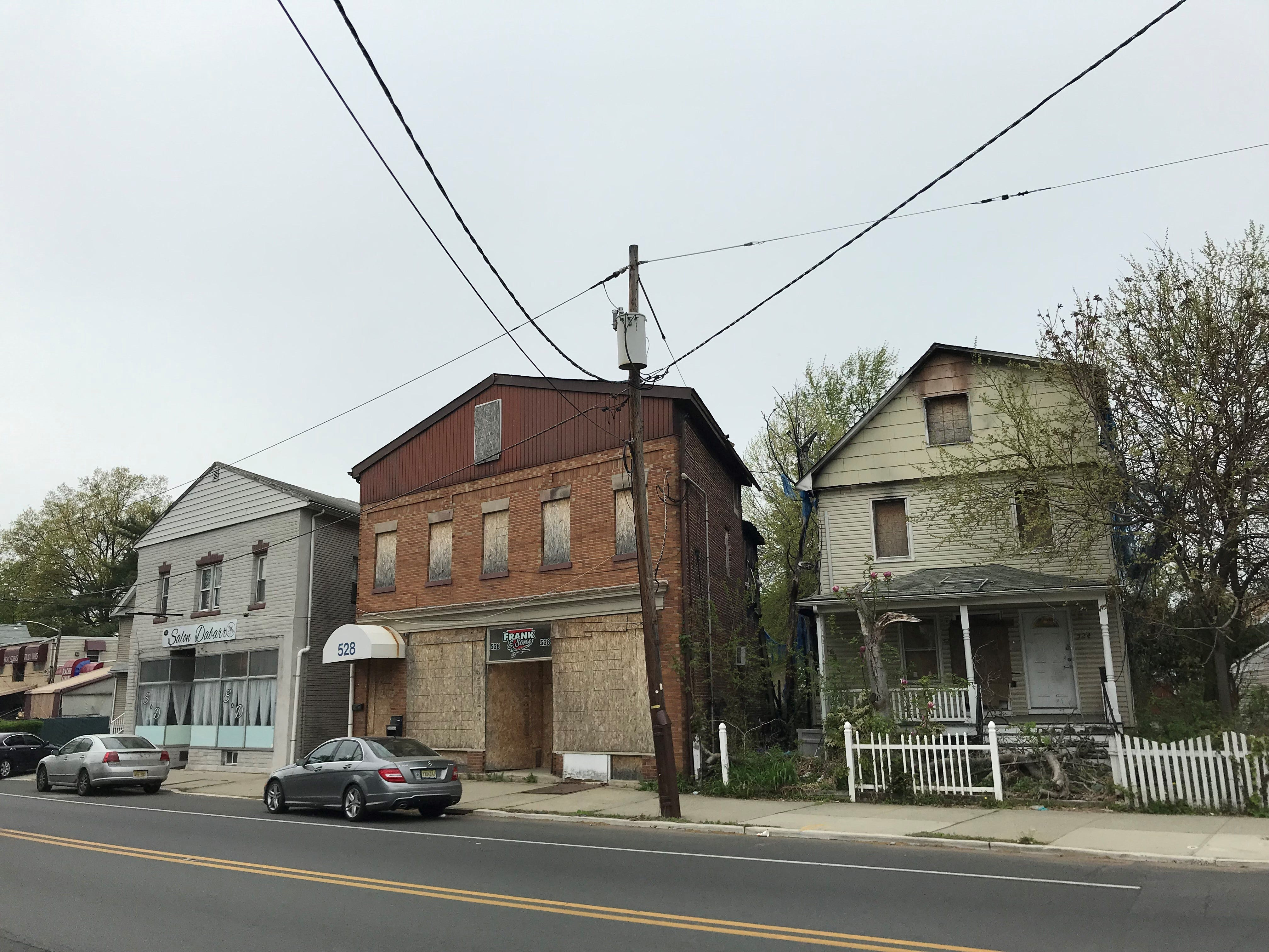 Dr. Brian Katz of Highland Park will redevelop these three Dunellen buildings into a high-end apartment complex.