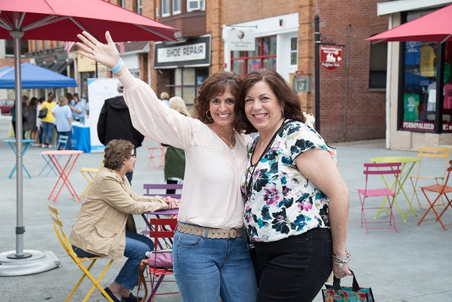Participants at the 2018 Girls' Night Out Event in Downtown Somerville. The event returns this year on Thursday, May 16,with even more shopping, dining and entertainment. Visit www.somervilleGNO.com for more info.