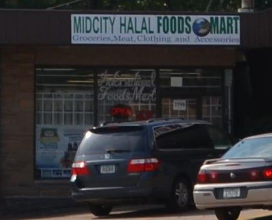 Midcity Halala Food,d Market, 2720 Douglas Ave, in Des Moines