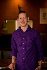 Co-owner, Matthew Gunn, of Wood Iron Grille in Oskaloosa.