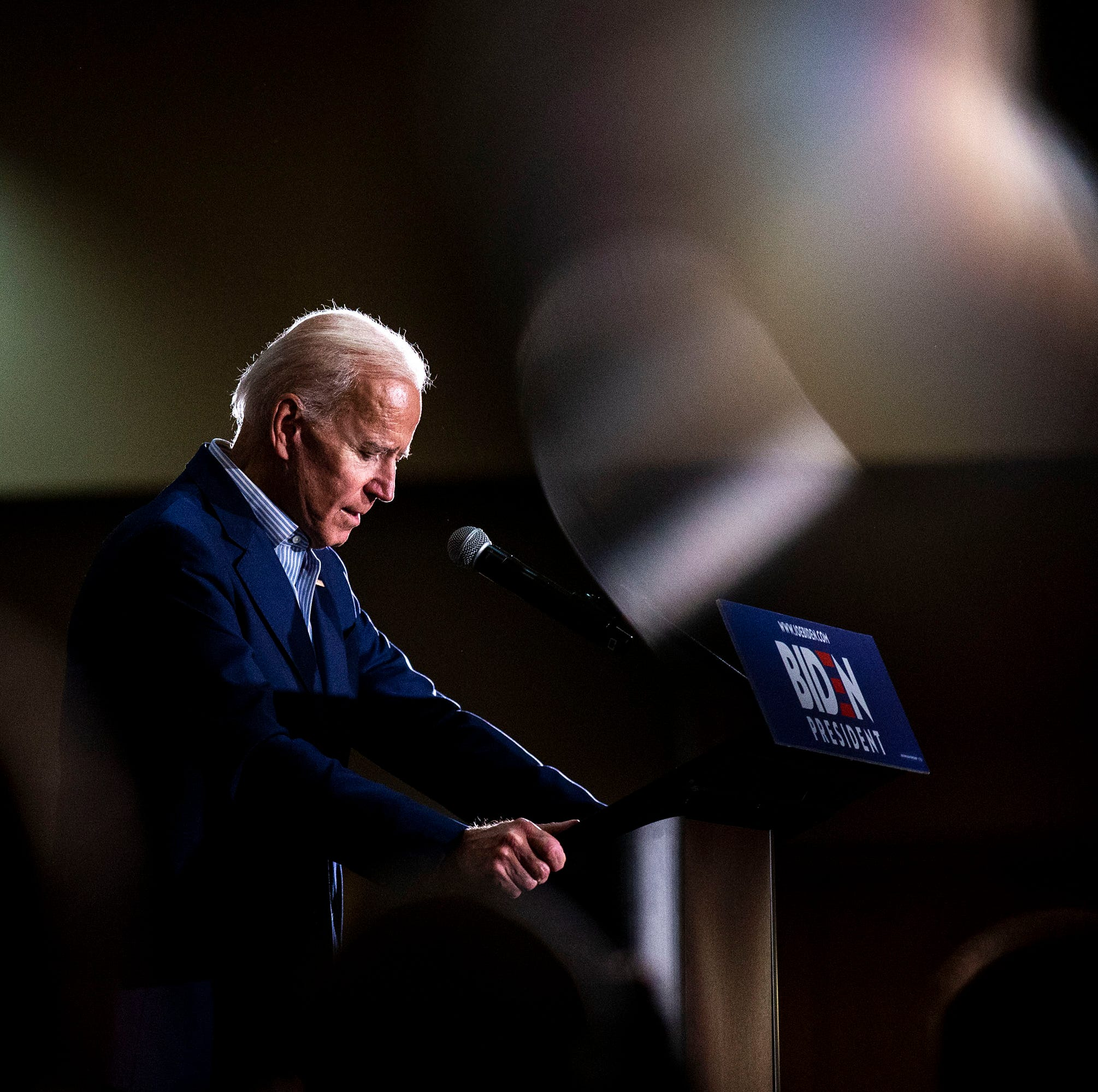 Joe Biden's challenge in Iowa: Going from great on paper to standing out in crowded, diverse field