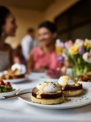 Enjoy Fleming's signature eggs Benedict for Mother's Day at its West Des Moines location.