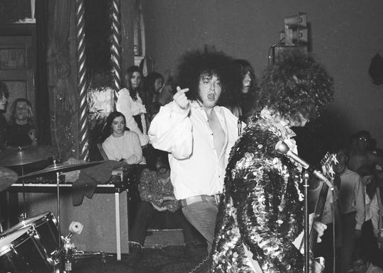 MC5 at the Grande Ballroom in 1971.