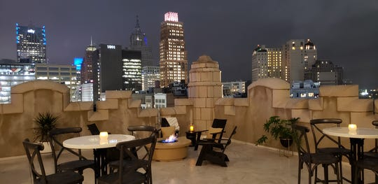 The Monarch Club is anticipated to open May 11 atop the Metropolitan Building in downtown Detroit.