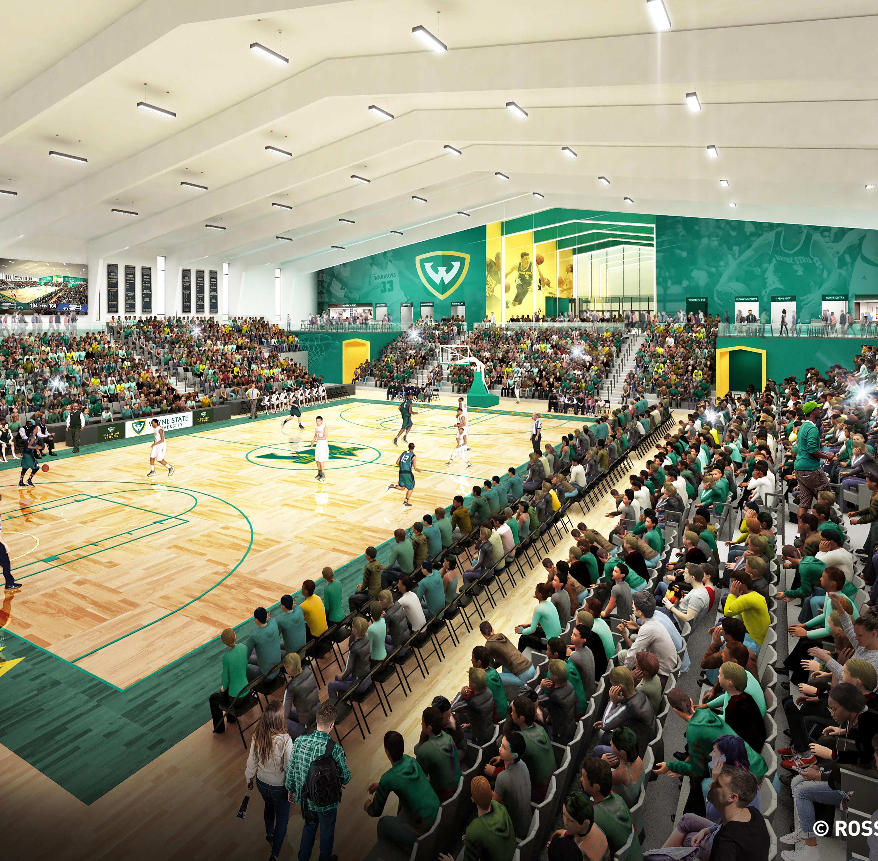 Wayne State, Detroit Pistons ink deal for $25M arena on edge of campus