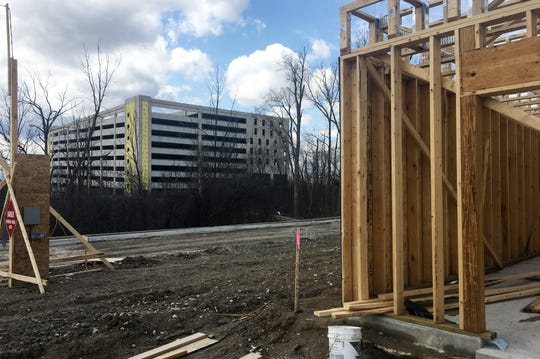 A future apartment at the Village at Bloomfield seen here on Friday, April 26, 2019.