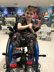 Nathan Major will receive a new wheelchair from Binson's after his previous one was stolen April 27.