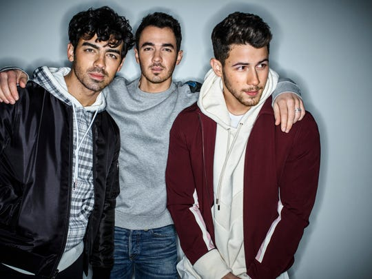 The reactivated Jonas Brothers are performing at Little Caesars Arena on Sept. 7.