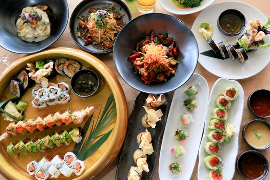 A spread of dishes from Zao Jun, debuting in Bloomfield Township May 6, 2019.