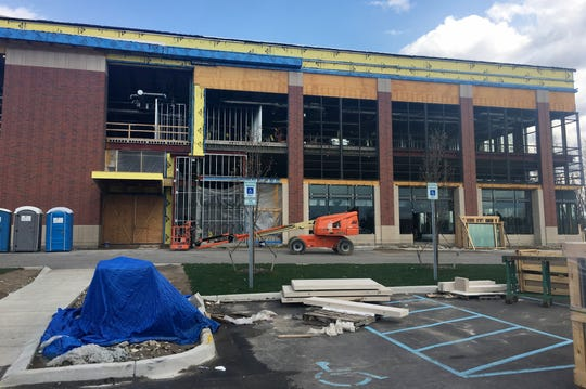 A new Henry Ford Health System clinic is taking shape at the Village at Bloomfield seen here on Friday, April 26, 2019.