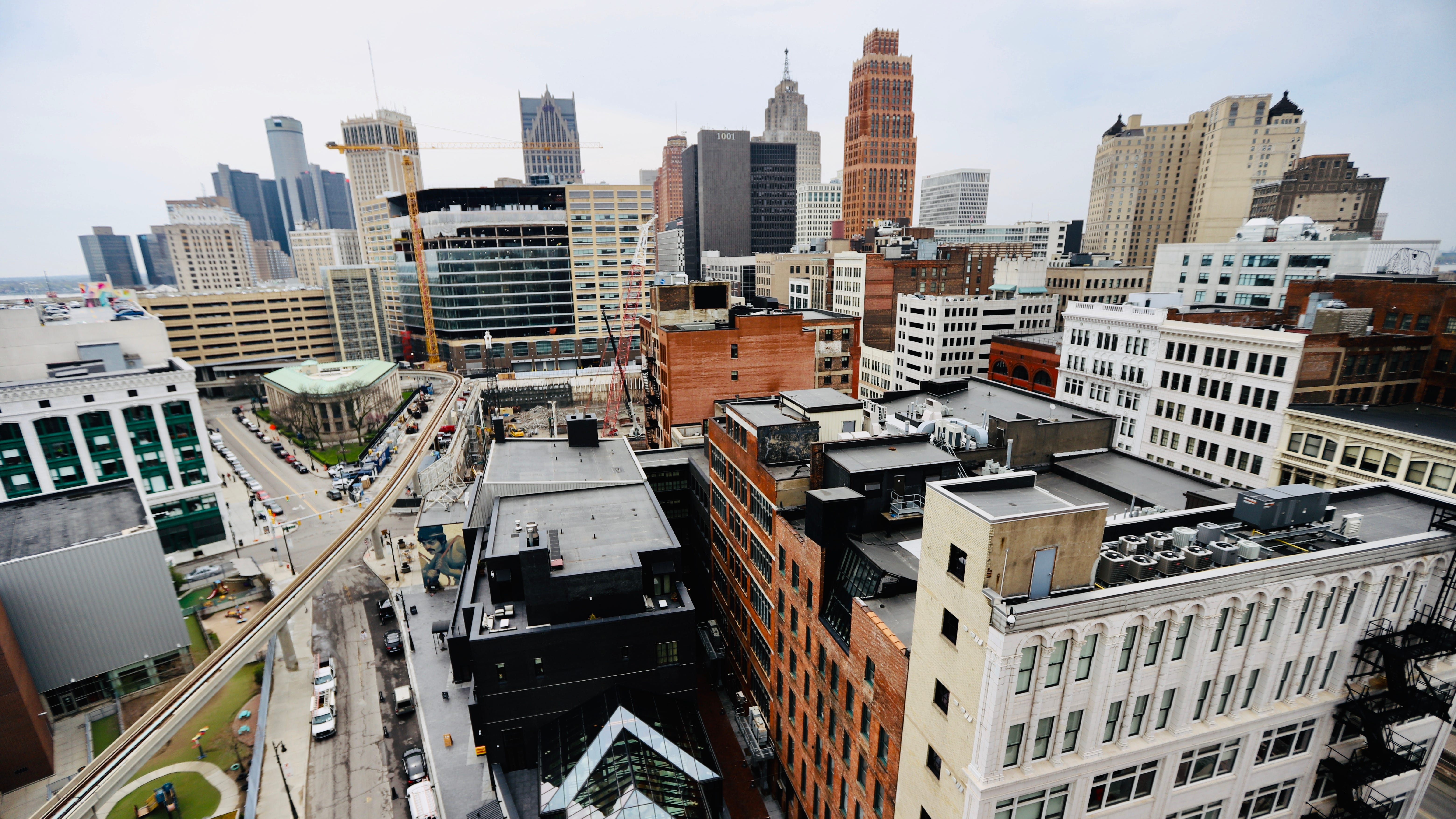 The Monarch Club rooftop bar opening soon in downtown Detroit
