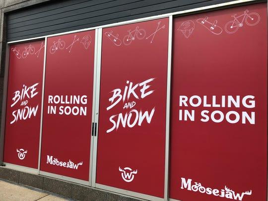 Moosejaw Bike and Snow is opening in downtown Birmingham.