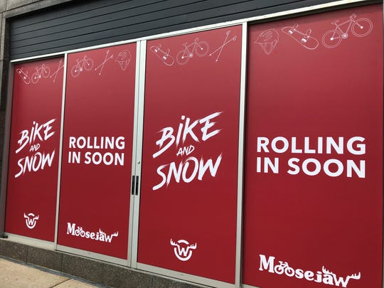 Moosejaw Bike and Snow is opening in downtown Birmingham.