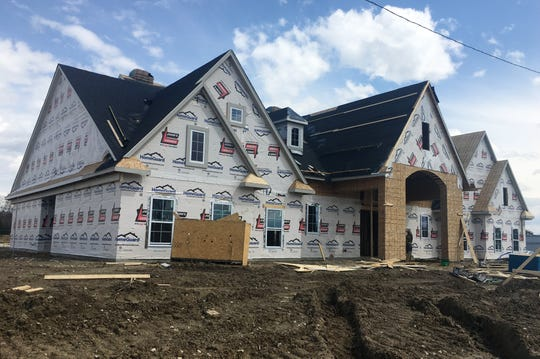 The clubhouse for future apartments at the Village at Bloomfield seen here on Friday, April 26, 2019.