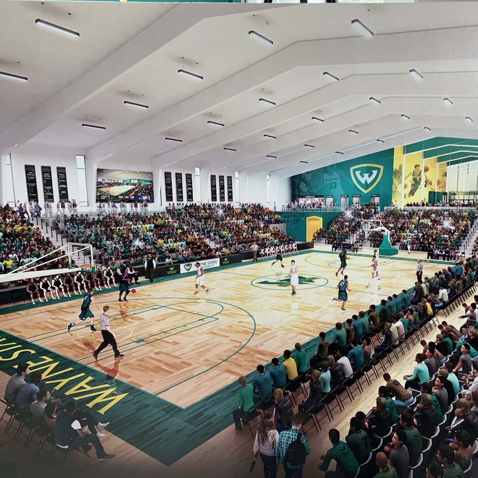 Wayne State to build $25M athletic facility, house Pistons' G-League team